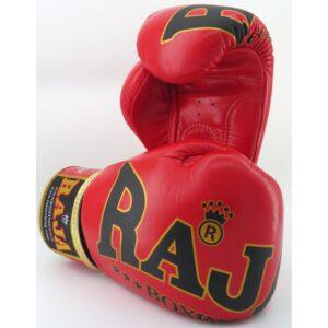 Guantes Raja Boxing Special Piel rojo