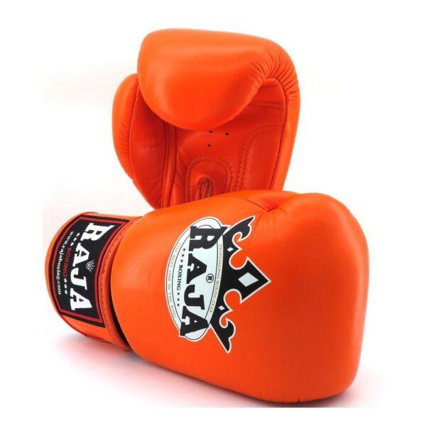 Guantes Raja Boxing colors Piel Naranja