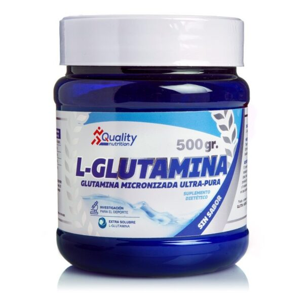 L-Gutamina 500 gr de Quality Nutrition