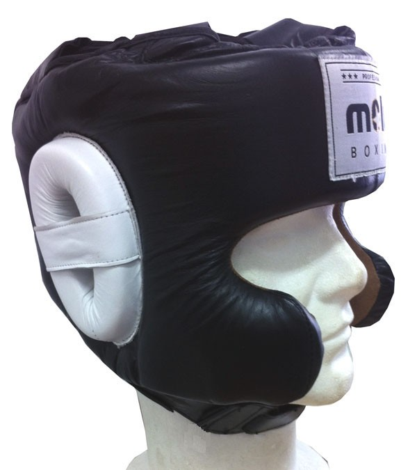 Casco Profesional Gel Negro de Molu Boxing