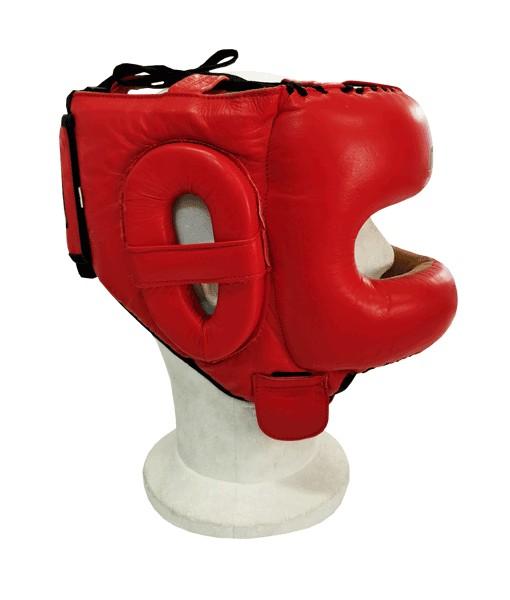 Casco Barra Profesional AMY Rojo de Molu Boxing