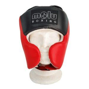 Casco Profesional Pomulos BIG Rojo de Molu Boxing