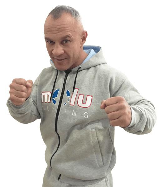 Sudadera MARLEY Gris de Molu Boxing