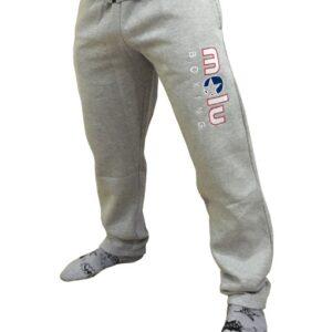 Pantalón Felpa Bordado MARLEY Gris de Molu Boxing