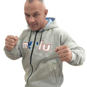 Sudadera PRINCE Gris de Molu Boxing