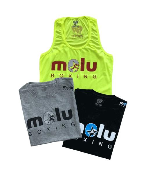 Camiseta Tirantes FLÚOR chica de Molu Boxing