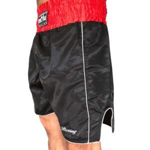 Pantalón boxeo Profesional Satén Negro de Molu Boxing