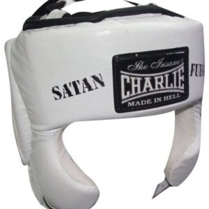 Casco SATÁN Blanco de Charlie