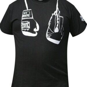 Camiseta GUANTES COLGADOS Negro de Charlie