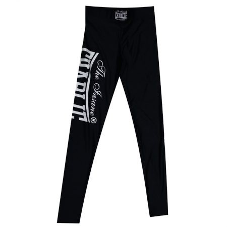 Pantalon LYCRA Negro/Blanco Hombre de Charlie