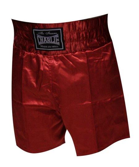 Pantalón BOXEO LISO Rojo de Charlie
