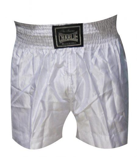 Pantalón BOXEO LISO Blanco de Charlie