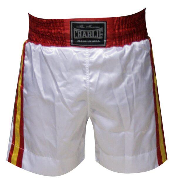 Pantalón BOXEO BANDERA Blanco de Charlie