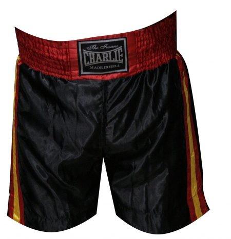 Pantalón BOXEO BANDERA Negro de Charlie