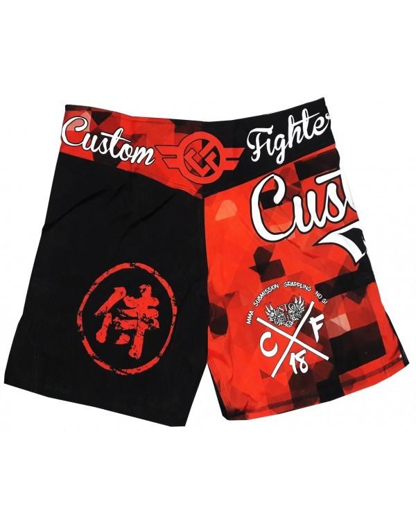 Short MMA Mixed Custom Fighter