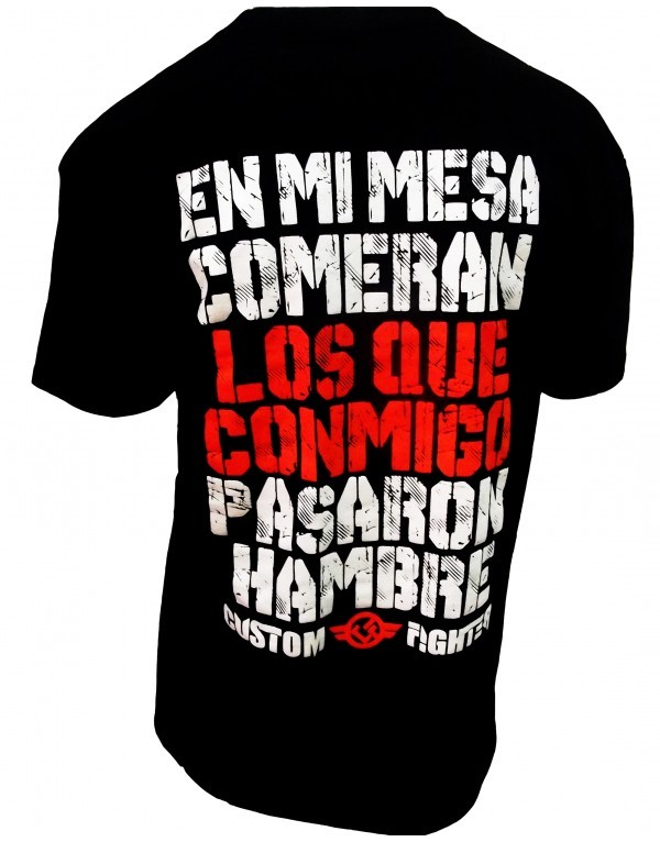 Camiseta En mi Mesa Comerán.. de Custom Fighter