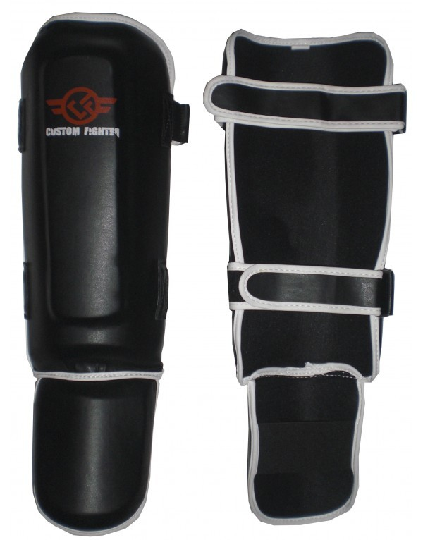 Espinillera Velcro Thai de Custom Fighter