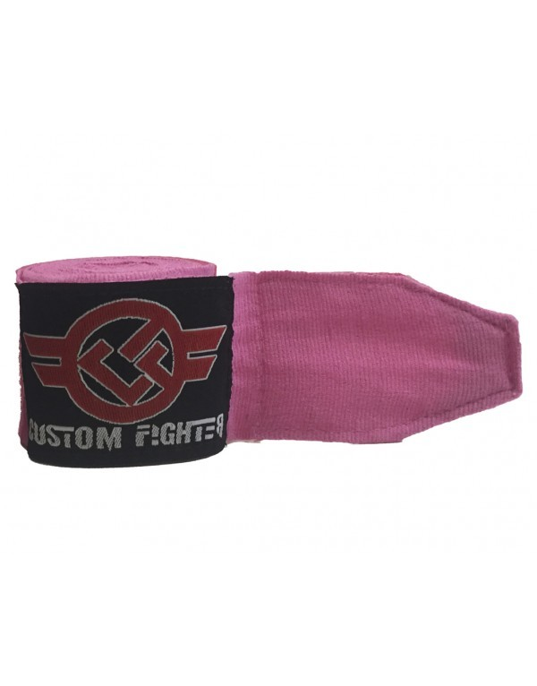 Venda Semi Elástica 3.5 Mtr Rosa de Custom Fighter
