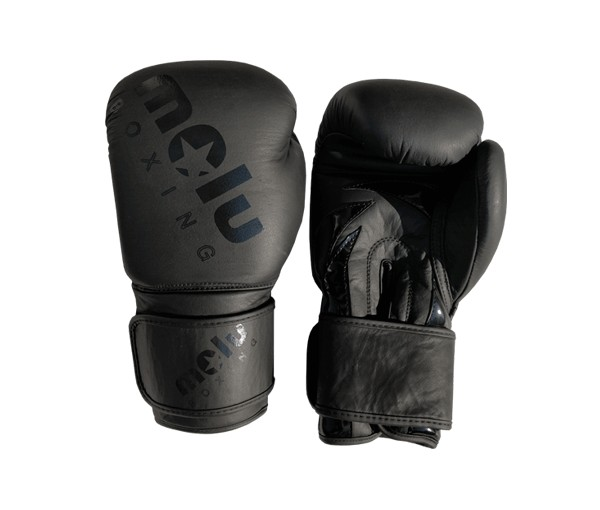 Guantes Piel BLACK IS BLACK de Molu Boxing