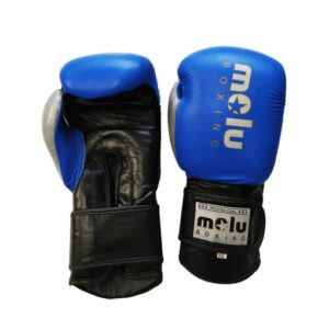 Guantes Piel MERCURY Azul de Molu Boxing