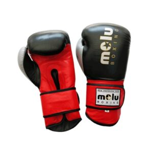 Guantes Piel MERCURY Negro de Molu Boxing