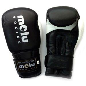 Guantes ULTRAVOX Negro de Molu Boxing