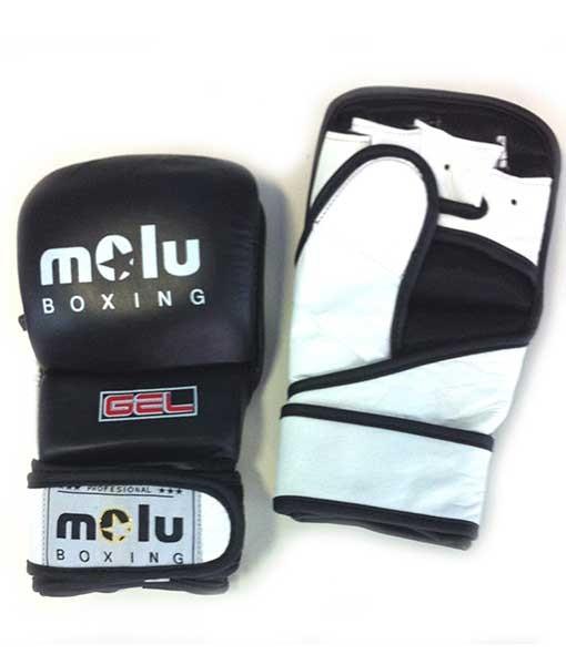 Guantilla MMA GEL AC/DC Negro Molu Boxing