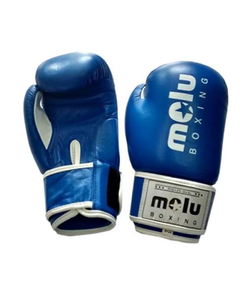 Guantes PIEL NIÑOS Azul de Molu Boxing