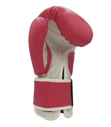 guante de boxeo rosa