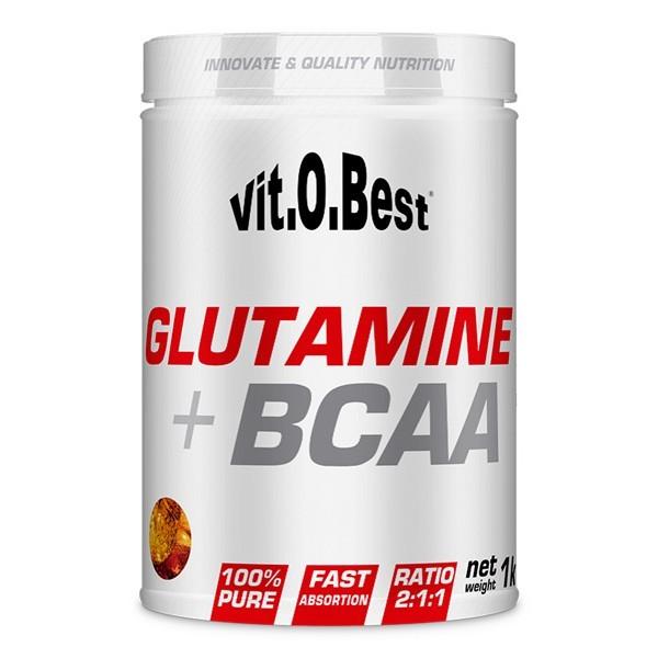 GLUTAMINA + BCAA 1 Kg de VitoBest
