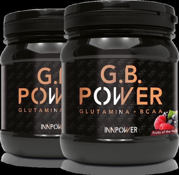 GLUTAMINA + BCAA G.B. POWER 500 GR DE INNPOWER